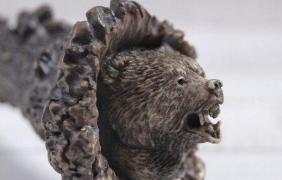 Столовый набор Золинген Охота на медведя